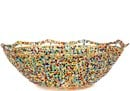 African Basket - Kenya - Beaded Bowl, Medium -  8 Inches Across - #68207