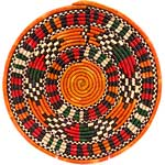 African Basket - Nubian - Tabaga Roundel - 11.25 Inches Across - #52399