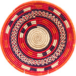African Basket - Nubian Bowl - 11.75 Inches Across - #73058