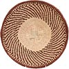African Basket - Tonga - Zimbabwe Binga Basket - 12.5 Inches Across - #64690