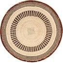 African Basket - Tonga - Zimbabwe Binga Basket - 19.5 Inches Across - #66920
