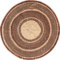 African Basket - Tonga - Zimbabwe Binga Basket - 16.5 Inches Across - #66926
