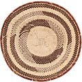 African Basket - Tonga - Zimbabwe Binga Basket - 16.5 Inches Across - #68435