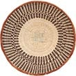 African Basket - Tonga - Zimbabwe Binga Basket - 16.25 Inches Across - #68456