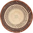 African Basket - Tonga - Zimbabwe Binga Basket - 15.75 Inches Across - #68947