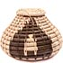 African Lidded Basket - Botswana -  3.5 Inches Tall - #48569