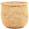 African Basket - Mossi Sieve Basket -  9.5 Inches Across - #68262