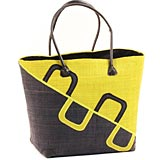 African Market Basket - Madagascar - Malagasy Tote - Approximately 16 Inches Across - #68826