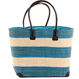 African Market Basket - Madagascar - Malagasy Tote - Approximately 16 Inches Across - #68841