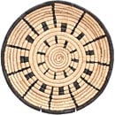 African Basket - Malawi Tray - 12 Inches Across - #71197