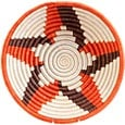 African Basket - Rwanda Sisal Coil Weave Bowl - 9 Inches Across - #56898