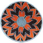 African Basket - Rwanda Sisal Coil Weave Bowl - 12 Inches Across - #56923