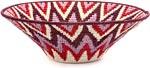 African Basket - Swaziland - Sisal Bowl -  9.5 Inches Across - #44393