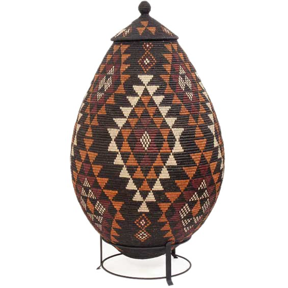 African Baskets: Zulu Ilala Palm Baskets