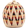 African Basket - Zulu Ilala Palm - Ukhamba -  9.5 Inches Tall - #64521