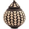 African Basket - Zulu Ilala Palm - Ukhamba - 10.75 Inches Tall - #67243