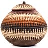 African Basket - Zulu Ilala Palm - Ukhamba -  9 Inches Tall - #67244