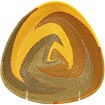 African Basket - Zulu Wire - Shallow Triangle #63977
