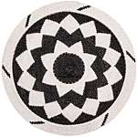 African Basket - Zulu Wire - Flat Coil Weave Plate - 12.75 Inches Across - #66345
