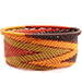 African Basket - Zulu Wire - Small Bowl with Straight Sides #73916