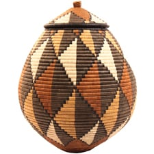 Zulu Ilala Palm Baskets, Fair Trade Gifts